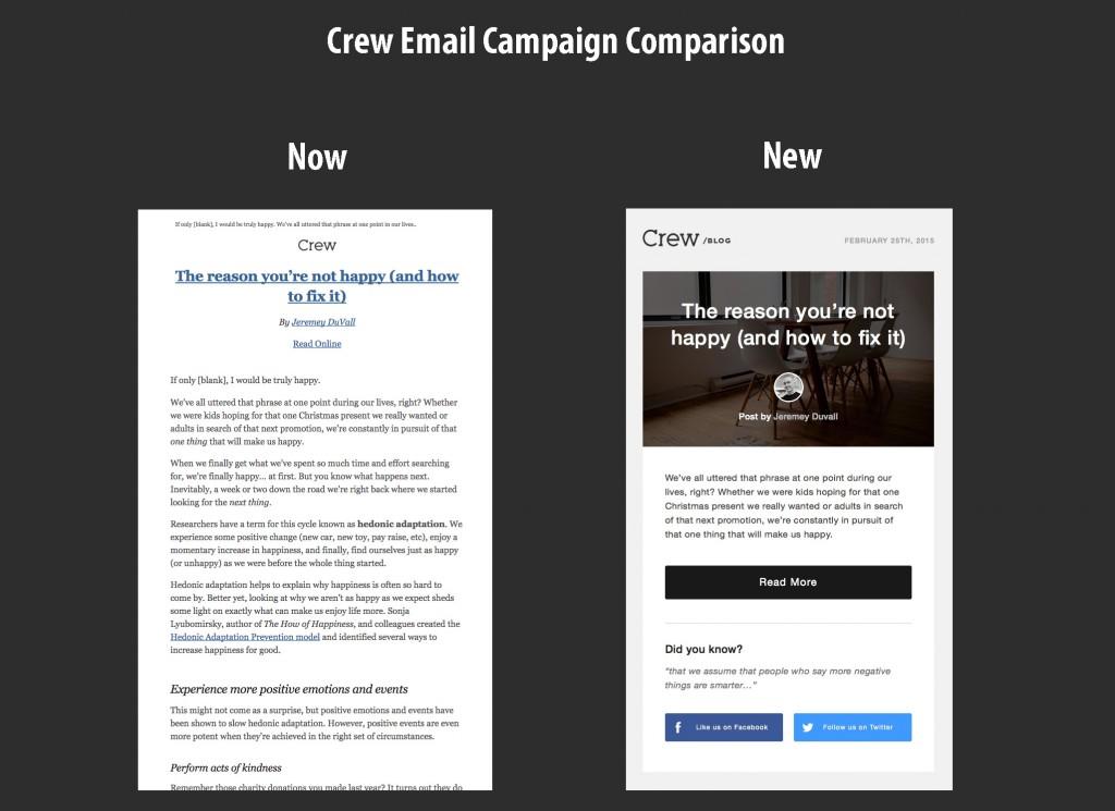 crew-email-campaign-comparison